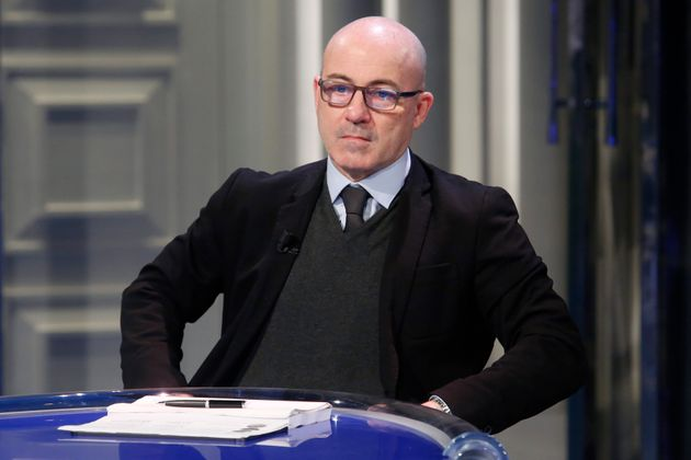 The minister for ecological transition Roberto Cingolani, appears as a guest on the tv show Porta a Porta....