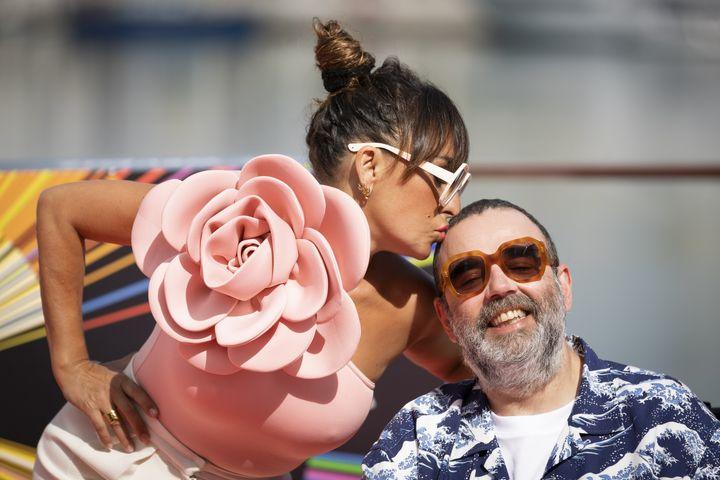 Candela Peña y Bob Pop