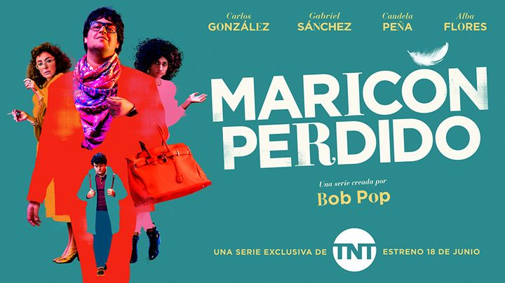 Póster de 'Maricón perdido', en TNT
