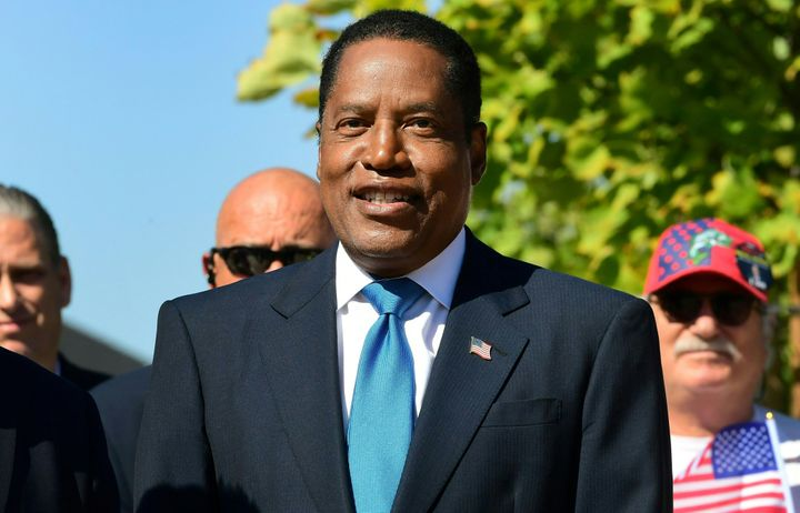 Larry Elder, the leading GOP candidate to succeed Newsom, has generated conservative grassroots enthusiasm. But Democrats bel