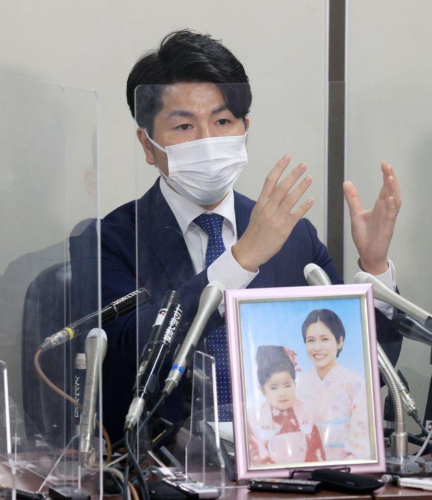 池袋暴走事故で妻子を失った松永拓也さん=2021年9月2日、東京都千代田区