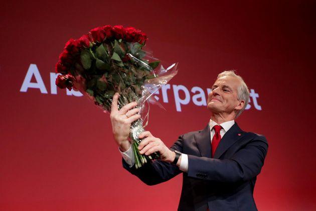 El líder del Partido Laborista de Noruega, Jonas Gahr