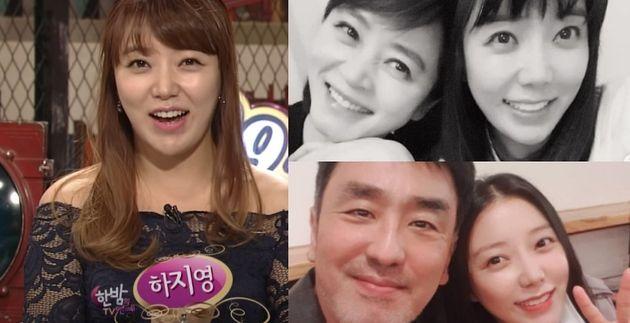 하지영은 SBS 연예 프로그램 '한밤의 TV연예'에서 9년 동안 리포터를