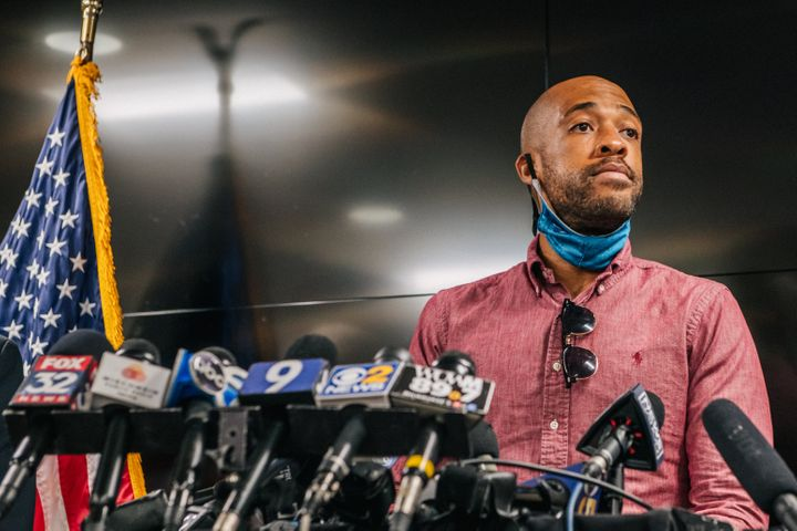 Wisconsin Lt. Gov. Mandela Barnes is one of the leading Democratic candidates for the U.S. Senate seat now held by Republican