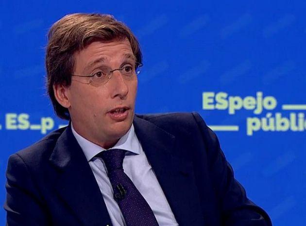 El portavoz del PP y alcalde de Madrid, Jose Luis Martínez
