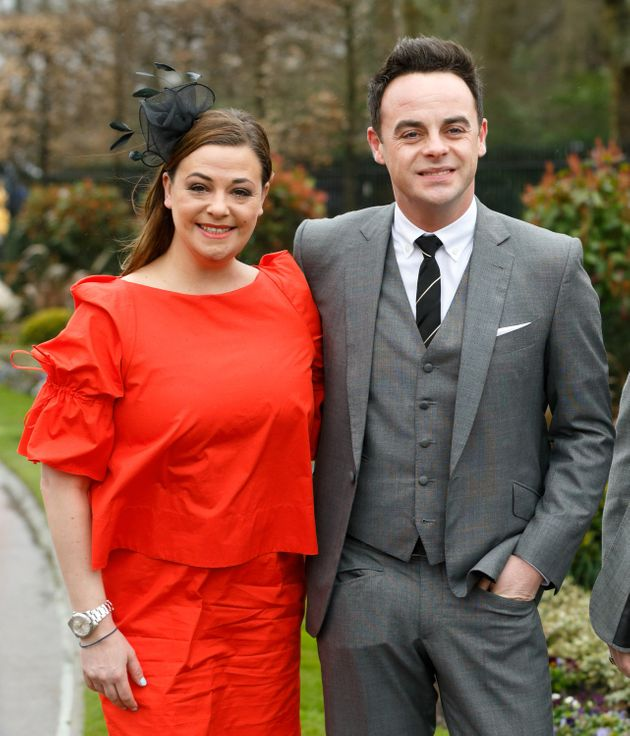 Lisa Armstrong and Ant McPartlin in