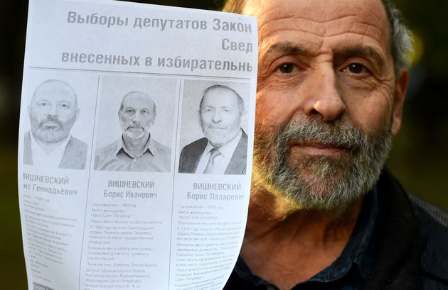 Boris Vishnevsky, a 65-year-old member of the liberal Yabloko party running for re-election to the regional...