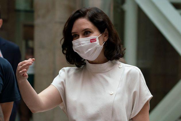 La presidenta de la Comunidad de Madrid, Isabel Díaz Ayuso, en una foto de