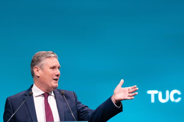 Keir Starmer said a minimum wage increase would provide an immediate pay rise of more than £2,500...
