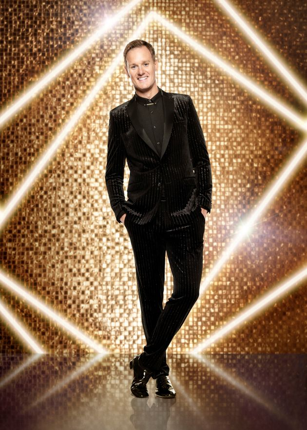 Dan in his Strictly publicity