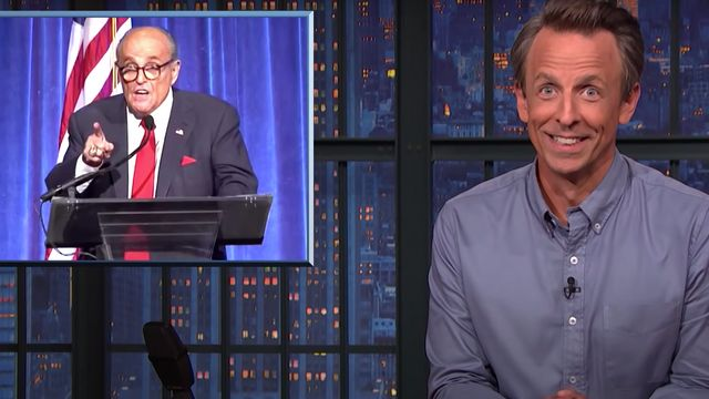 Giuliani's Off-The-Rails Speech Mimicking The Queen Gets The Treatment From Seth Meyers.jpg