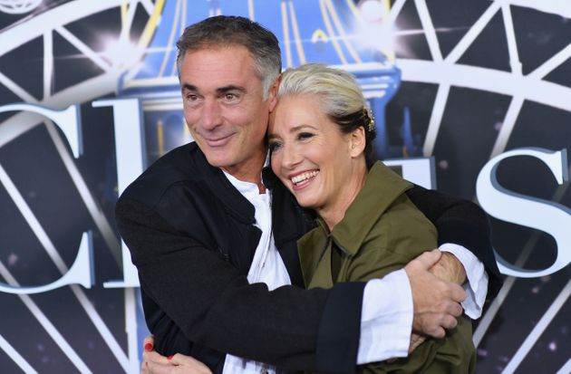Greg Wise and Emma Thompson at the premiere of Last