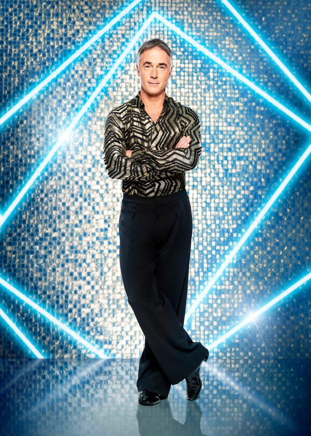Greg is one of 15 stars competing on Strictly this