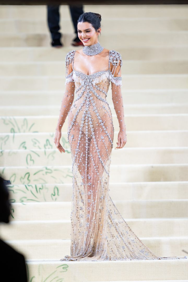 Kendall Jenner attends the 2021 Met Gala.
