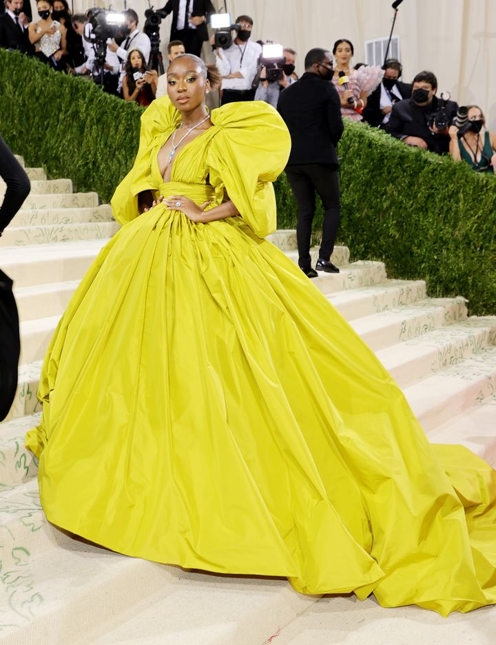 Normani attends the 2021 Met Gala.