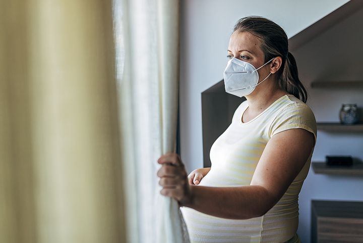 A new study suggests a majority of pregnant women have dealt with feelings of distress during the pandemic.