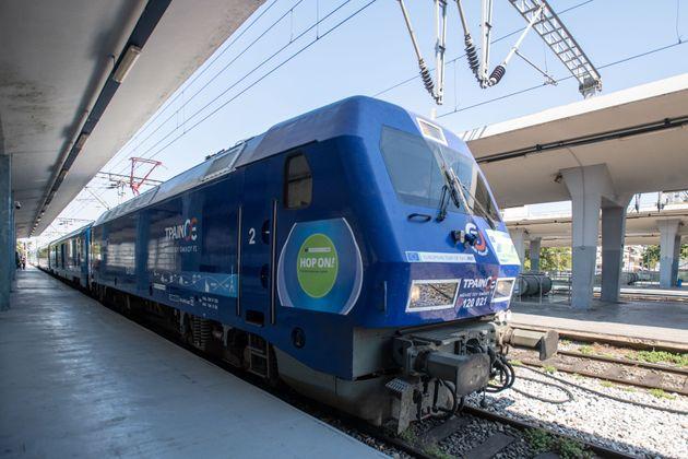 Η αμαξοστοιχία «Connecting Europe Express»