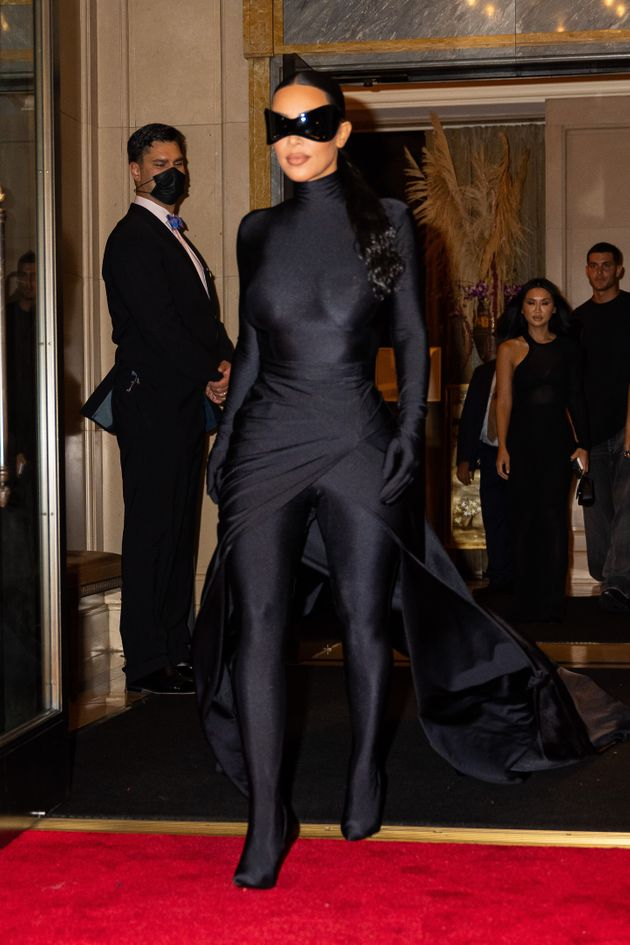 Kardashian's Met Gala after-party look revealed more of her