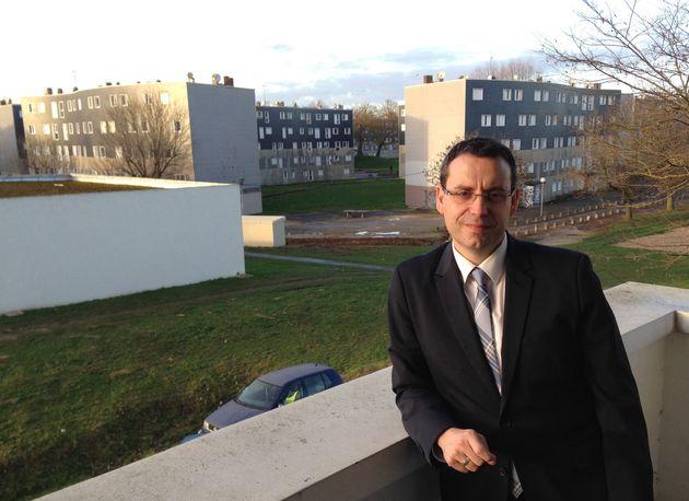 L'édile de Grigny Philippe Rio (PCF), élu meilleur maire du monde 2021, ici le 14 janvier