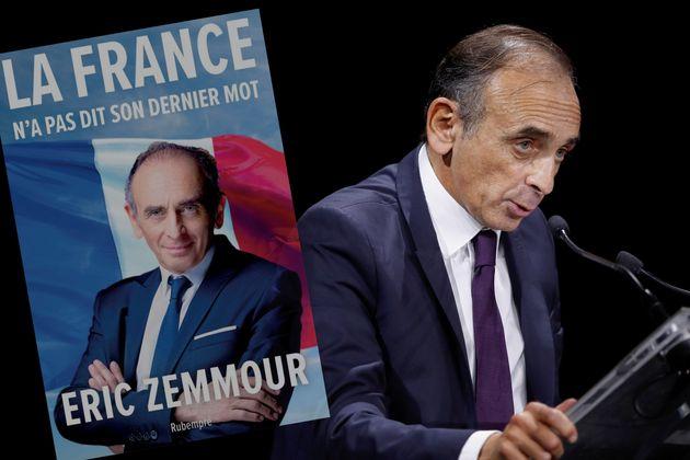 Éric Zemmour photographié à la Convention de la droite en septembre 2019