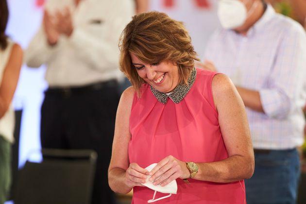 Susana Díaz, former president of the Board of