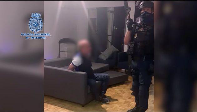 Detención en Madrid de el 'Pollo'
