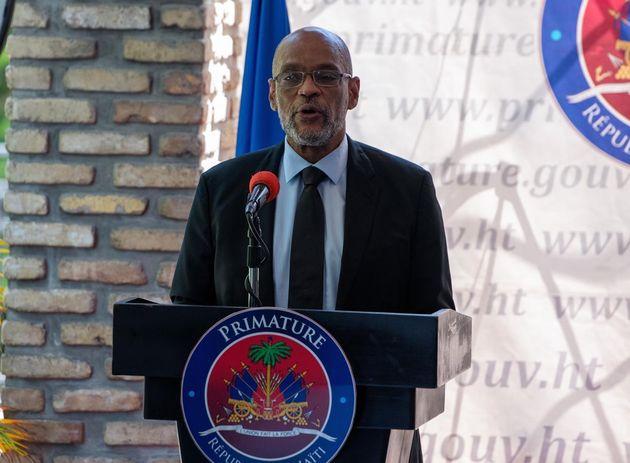 El primer ministro de Haití, Ariel Henry, en Puerto