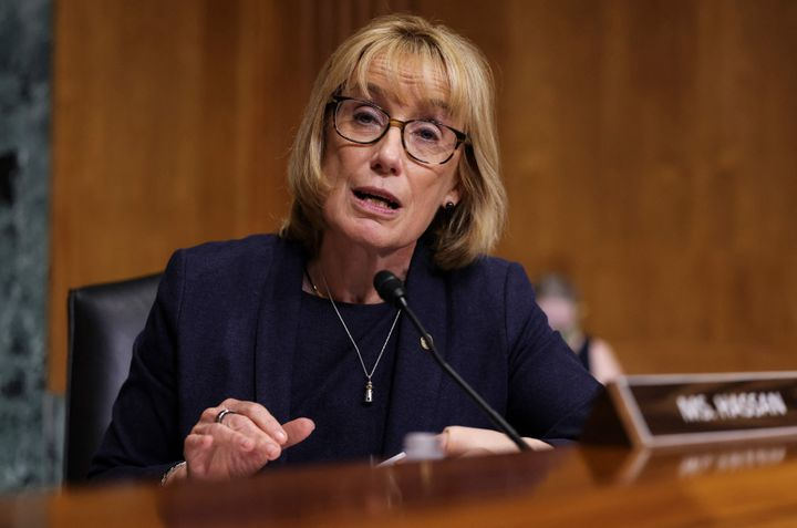 """Sen. Maggie Hassan (D-N.H.) said we """"need to be clear-eyed about who's driving this epidemic, whether it's viciou"""