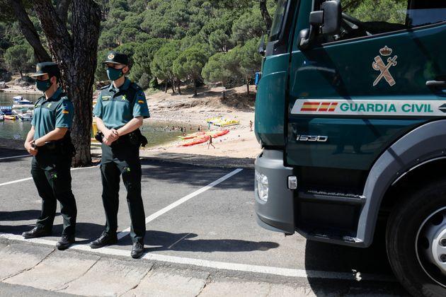 Agentes de la Guardia Civil, en un operativo reciente en la Comunidad de