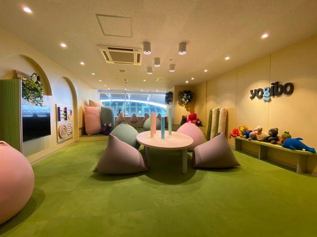 ノエビアスタジアム神戸に設置したセンサリールーム