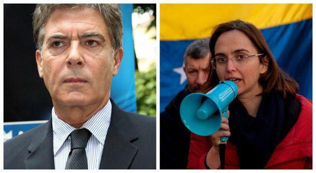Claudio Martelli e Lia
