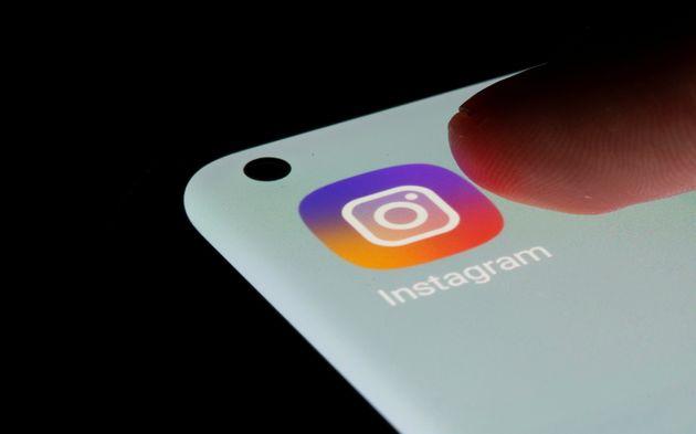 L'application Instagram sur un téléphone le 13 juillet