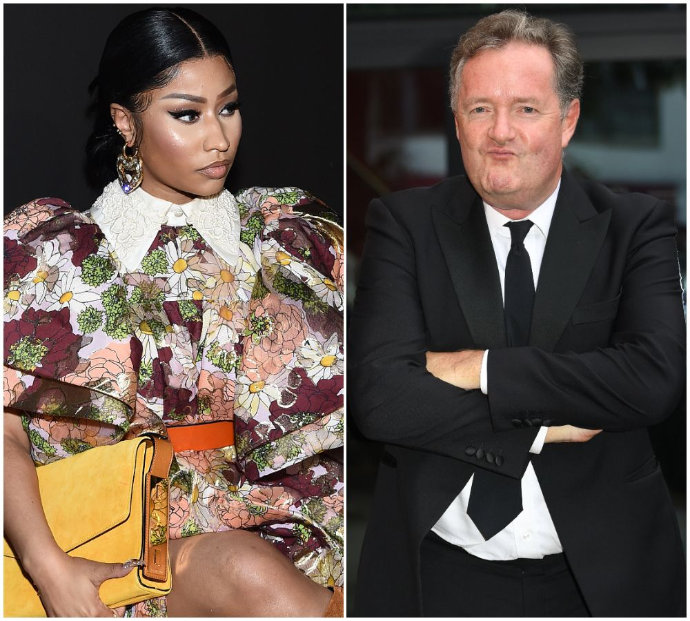 Nicki Minaj Labels Piers Morgan A 'Stupid Piece Of S***' After He Claims Rapper Blanked His Three Sons