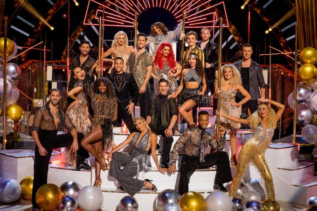 This year's team of Strictly Come Dancing professionals