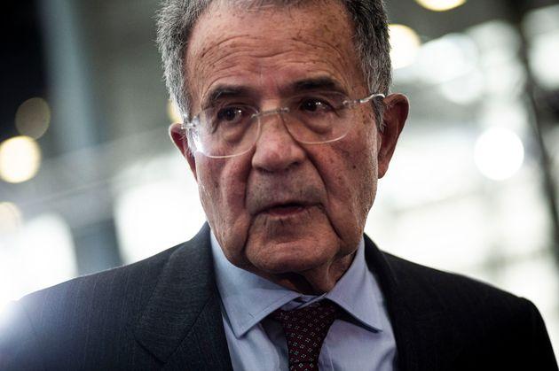 ROME, ITALY - DECEMBER 06: Former Italian politician and Professor Romano Prodi attends a press conference...