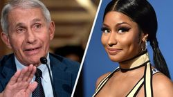 Nicki Minaj's 'Swollen Balls' Vaccine Claim Is Just Plain Nuts, Says Top US
