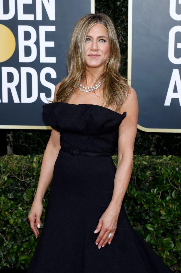 Jennifer Aniston at the 2020 Golden