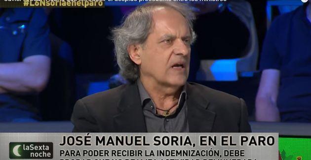 Javier Aroca, en 'La Sexta