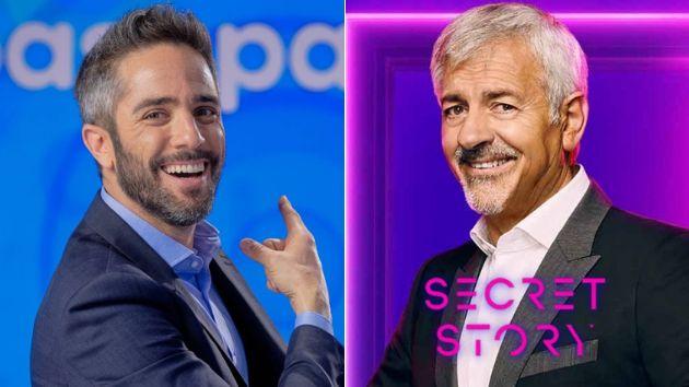 Roberto Leal y Carlos Sobera