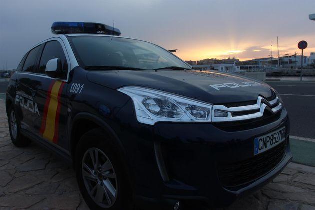 Un coche patrulla de la Policía Nacional, en una foto de