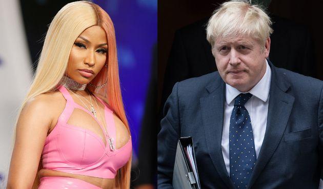 Nicki Minaj et Boris