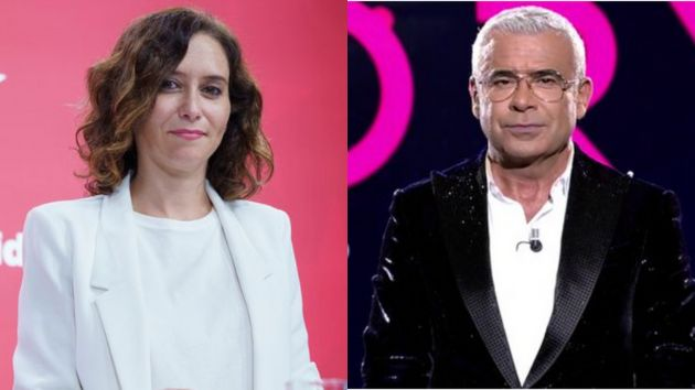 Isabel Díaz Ayuso y Jorge Javier