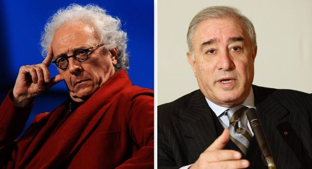 Giampiero Mughini e Marcello