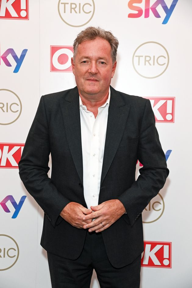 Piers Morgan at the TRIC Awards on 15