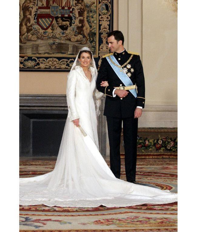 La reina, el día de su boda