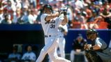 NEW YORK - CIRCA 2000: Mike Piazza #31 of the New York Mets bats during a Major League Baseball game circa 2000 at Shea Stadium in the Queens borough of New York City. Piazza played for the Mets from 1998-2005. (Photo by Focus on Sport/Getty Images)