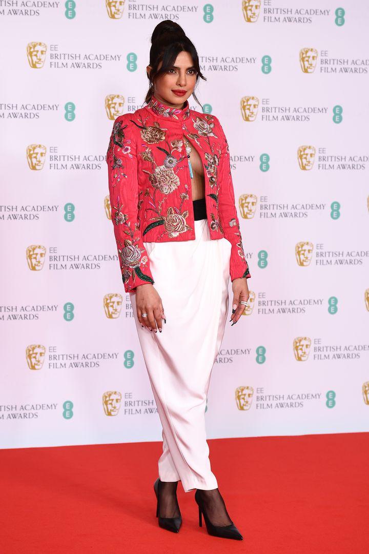 Priyanka Chopra, en los BAFTA