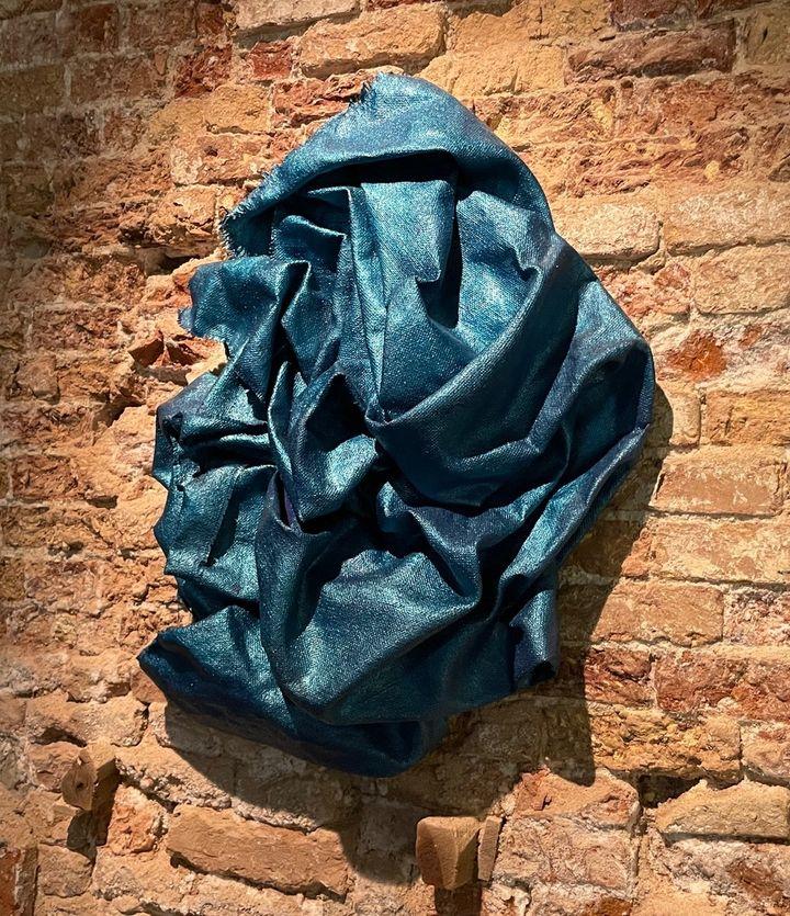 Obra inspirada en Giorgione y colores de la pintura veneciana.