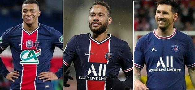Les joueurs du PSG Mbappé, Neymar et Messi sont attendus sur le terrain contre Bruges le 15 septembre