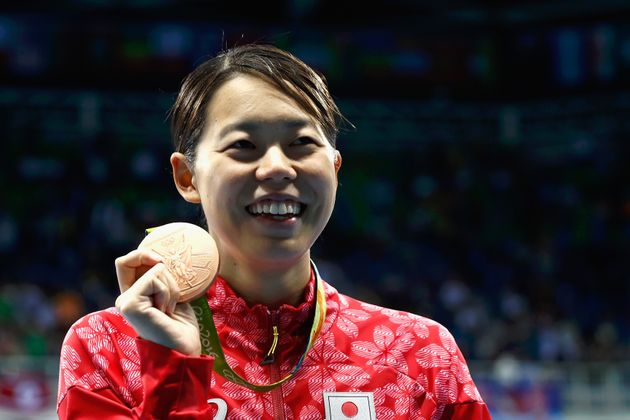 リオ五輪の200mバタフライで銅メダルに輝いた星奈津美さん(2016年)